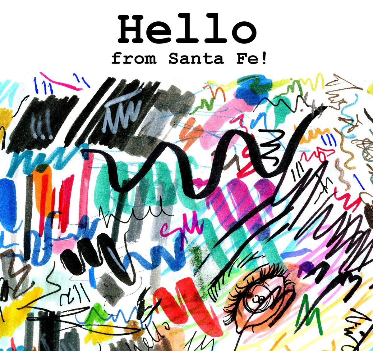 "New Fluxus Laboratories Publication: ""Hello from Santa Fe!"""